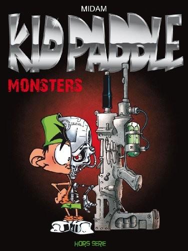 Couverture de Kid Paddle -HS- Monsters