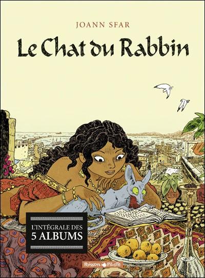 Couverture de Le chat du Rabbin -INT- Intégrale tomes 1 à 5