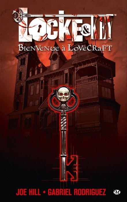 Couverture de Locke & Key -1- Bienvenue à Lovecraft