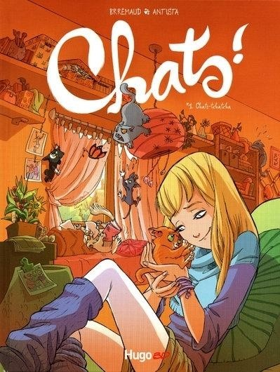 Couverture de Chats ! -1- Chats-tchatcha