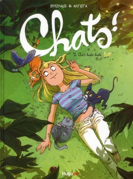 Couverture de Chats ! -2- Chats bada-bada