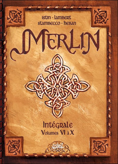 Couverture de Merlin (Nucléa/Soleil) -INT2b- Intégrale tomes 6 à 10