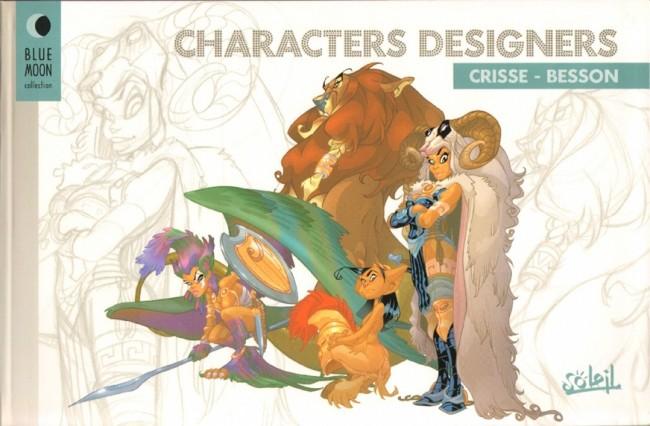 Couverture de (AUT) Crisse -10- Characters designers