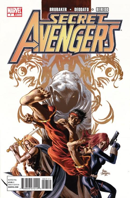 Couverture de Secret Avengers (2010) -7- Eyes of the dragon (Part 2)