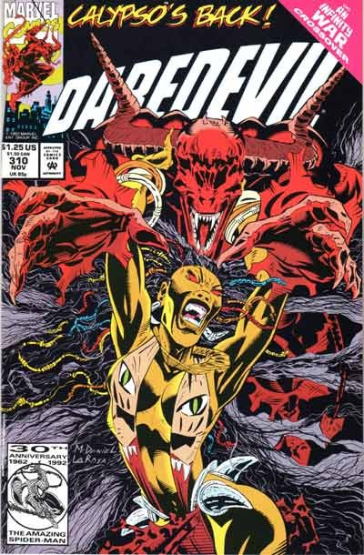 Couverture de Daredevil Vol. 1 (Marvel - 1964) -310- Devil Ye Rouge