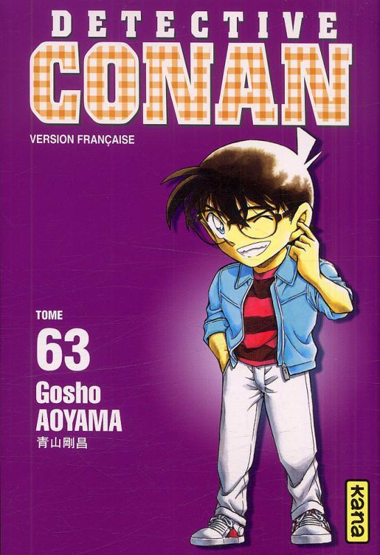 Couverture de Détective Conan -63- Tome 63