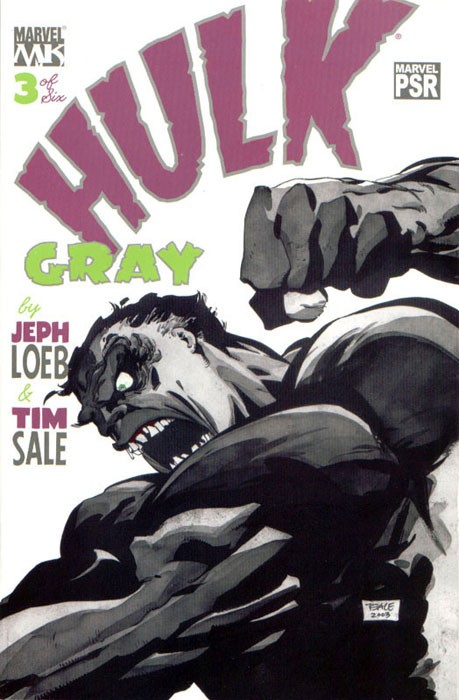 Couverture de Hulk: Gray (2003) -3- C is for cry