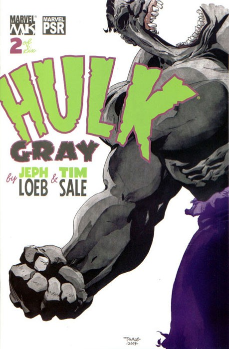 Couverture de Hulk: Gray (2003) -2- B is for boy