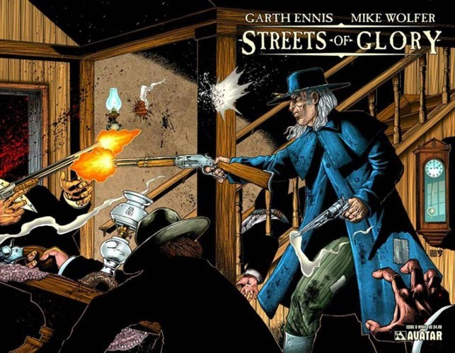 Couverture de Garth Ennis' Streets of Glory -6- ...i'm crossing the deep water to a country that is free