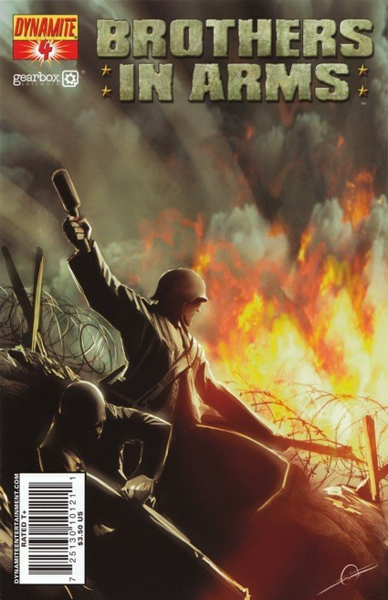 Couverture de Brothers in arms (2008) -4- Tome 4