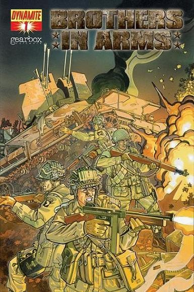 Couverture de Brothers in arms (2008) -1- Drop