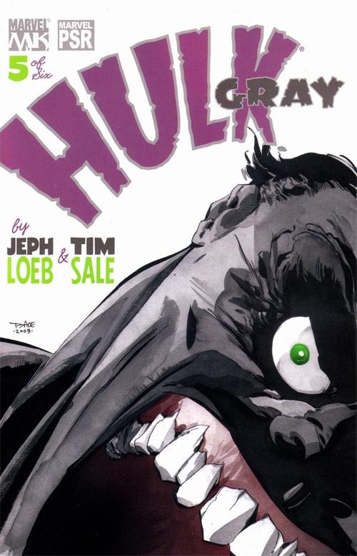 Couverture de Hulk: Gray (2003) -5- E is for elephant