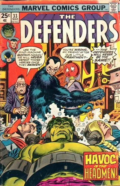 Couverture de Defenders (The) (1972) -33- Webbed hands, warm heart!