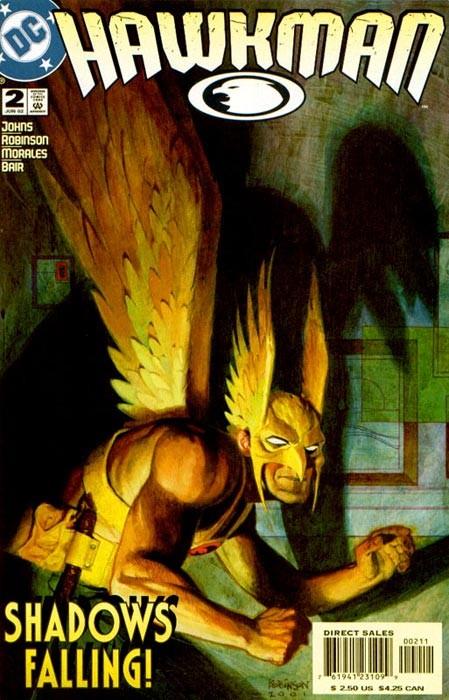 Couverture de Hawkman Vol.4 (DC comics - 2002) -2- Into the sky