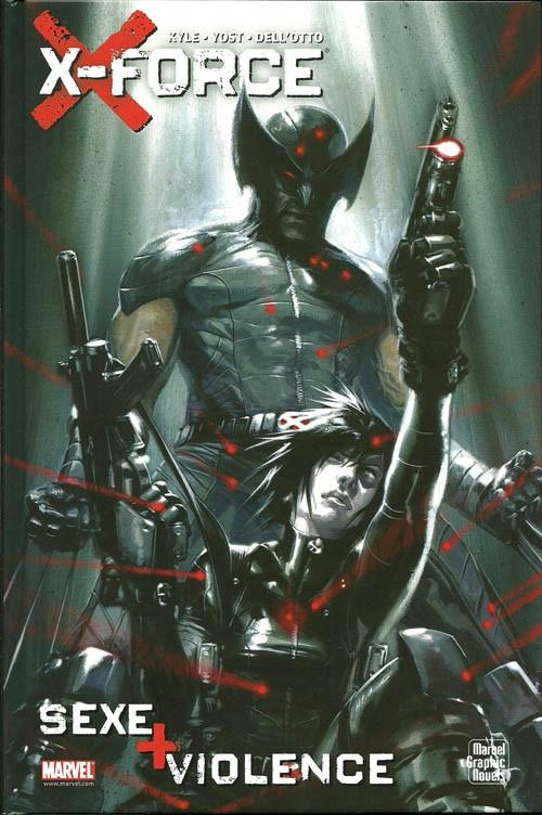 Couverture de X-Force : Sexe + Violence - Sexe + violence