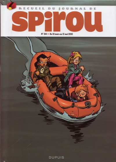 Couverture de (Recueil) Spirou (Album du journal) -314- Spirou album du journal