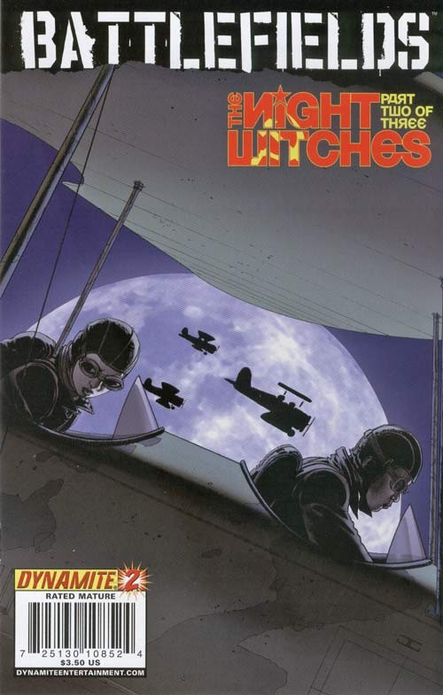 Couverture de Battlefields: Night Witches (2008) -2- The night witches