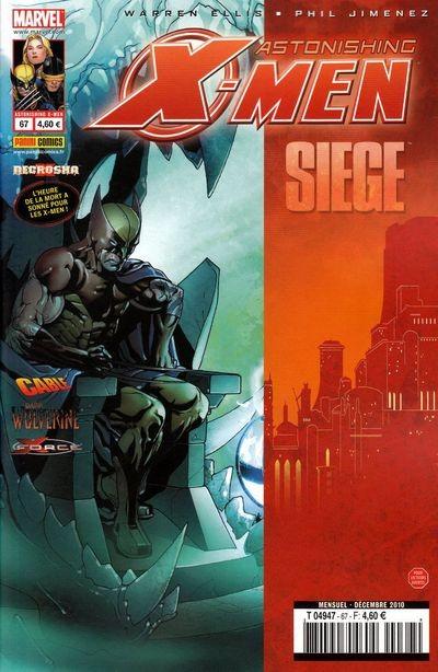 Couverture de Astonishing X-Men (kiosque) -67- Necrosha