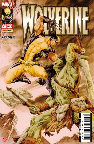 Couverture de Wolverine (Marvel France 1re série) (1997) -203- Sept contre un (1)