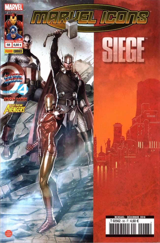Couverture de Marvel Icons (Marvel France - 2005) -68- Un mauvais rêve