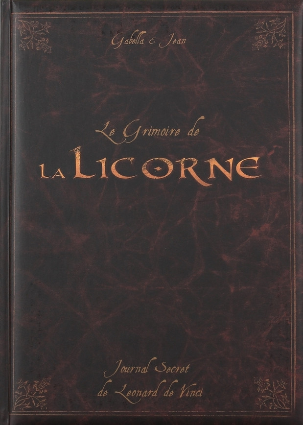 Couverture de La licorne -HS/TT- Le Grimoire de La Licorne