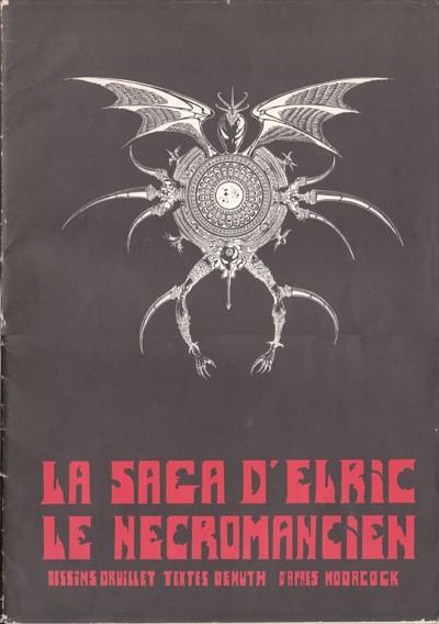 Couverture de (AUT) Druillet - La Saga d'Elric le Nécromancien
