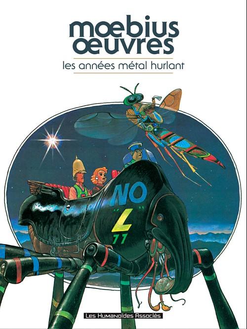 Couverture de Mœbius œuvres -INT- Les Années Métal Hurlant