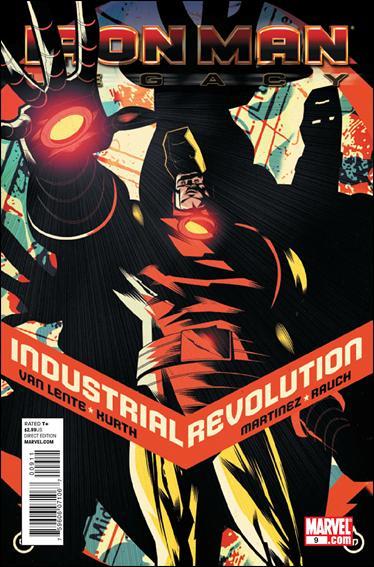 Couverture de Iron Man Legacy (2010) -9- Industrial revolution part 4 : bunker mentality