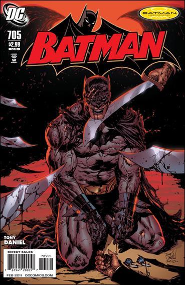 Couverture de Batman Vol.1 (DC Comics - 1940) -705- Eye of the beholder part 2 : see no evil