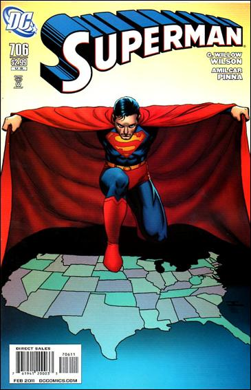 Couverture de Superman (1939) -706- Grounded interlude : breaking news