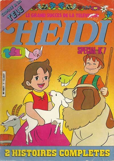 Couverture de Heidi spécial -7- Querelle sur Alpes