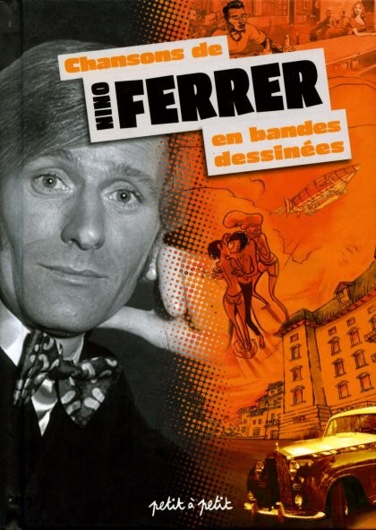 Couverture de Chansons en Bandes Dessinées  - Chansons de Nino Ferrer en bandes dessinées