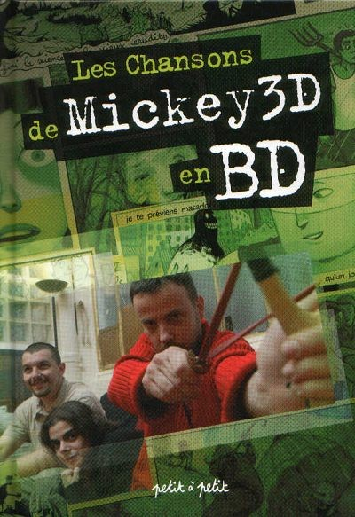 Couverture de Chansons en Bandes Dessinées  - Les Chansons de Mickey 3D en BD