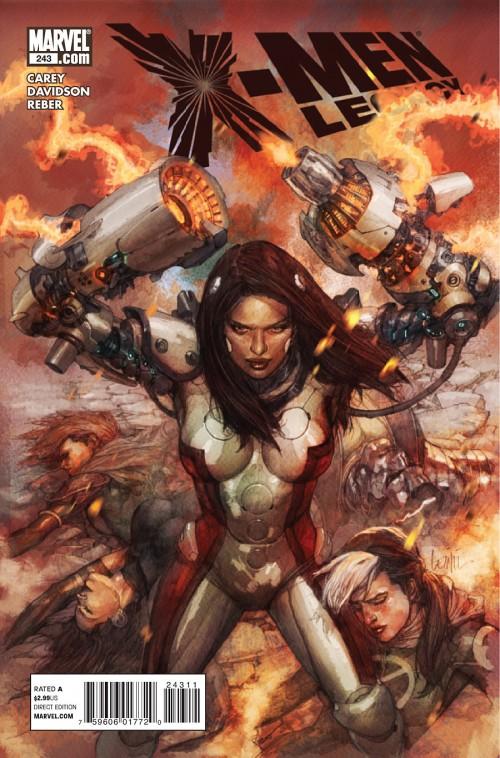 Couverture de X-Men Legacy (2008) -243- Fables of the reconstruction (Part 2)
