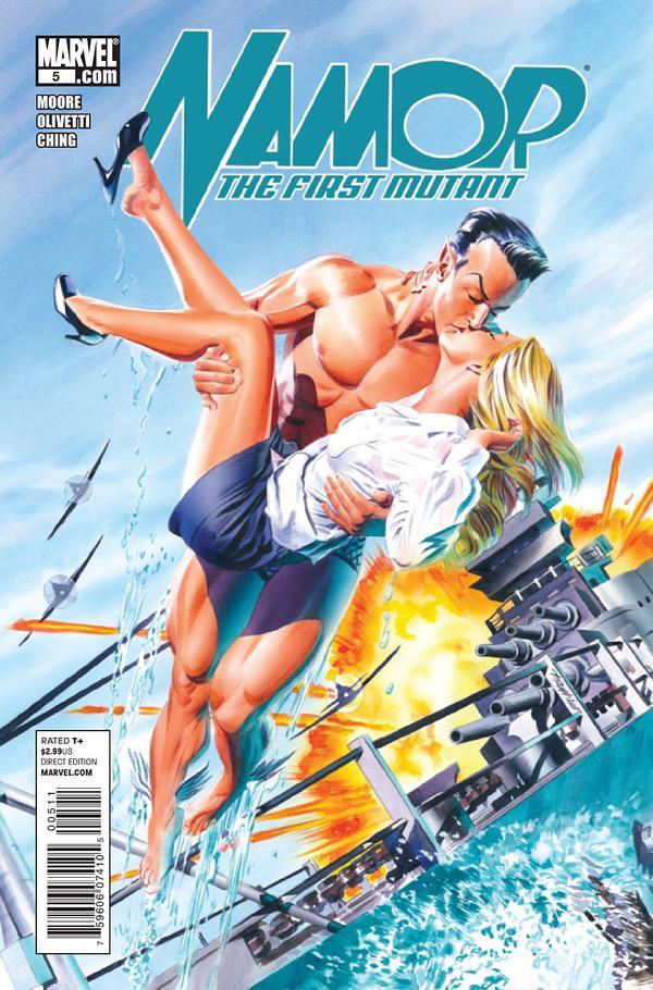 Couverture de Namor: The First Mutant (2010) -5- Faces