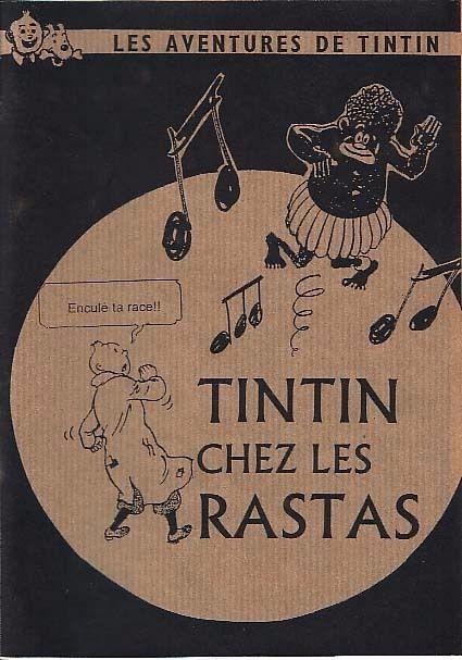 Couverture de Tintin - Pastiches, parodies & pirates -8- Tintin chez les rastas