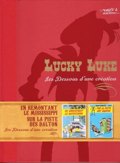 Couverture de Lucky Luke - Les Dessous d'une création (Atlas) -16- En remontant le Mississippi / Sur la piste des Dalton