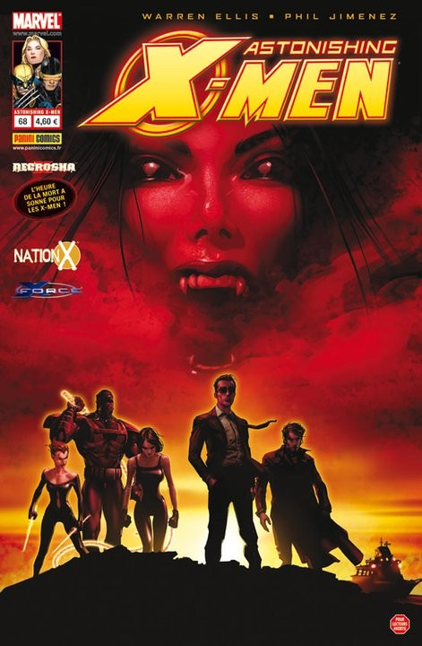 Couverture de Astonishing X-Men (kiosque) -68- Le mot pour rire