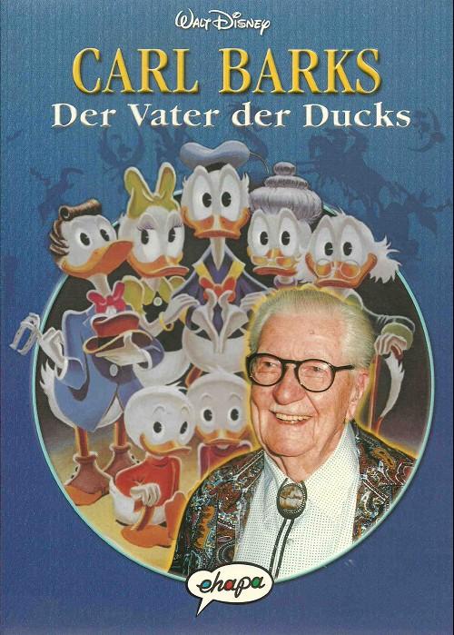 Couverture de Carl Barks - Der Vater der Ducks