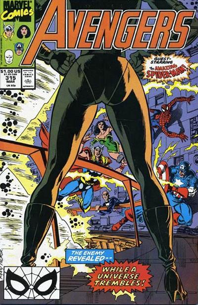Couverture de Avengers Vol. 1 (Marvel Comics - 1963) -315- Doomsday plus one