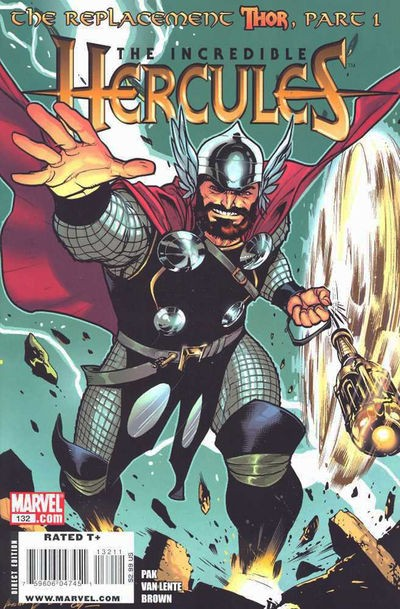 Couverture de The incredible Hercules (2008) -132- The replacement Thor