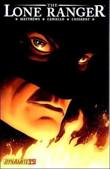 Couverture de The lone Ranger Vol.1 (Dynamite - 2006) -15- Scorched earth