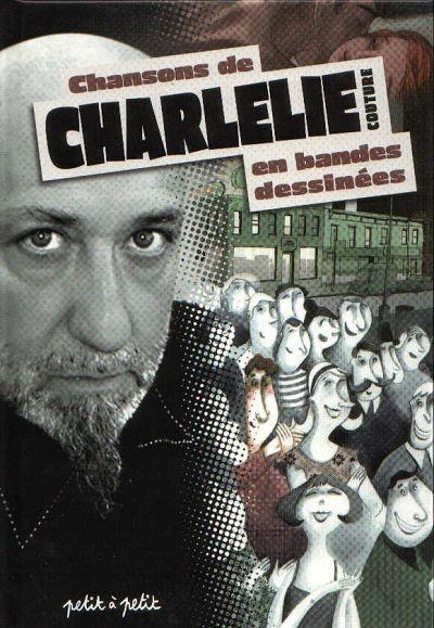 Couverture de Chansons en Bandes Dessinées  - Chansons de Charlélie Couture en bandes dessinées