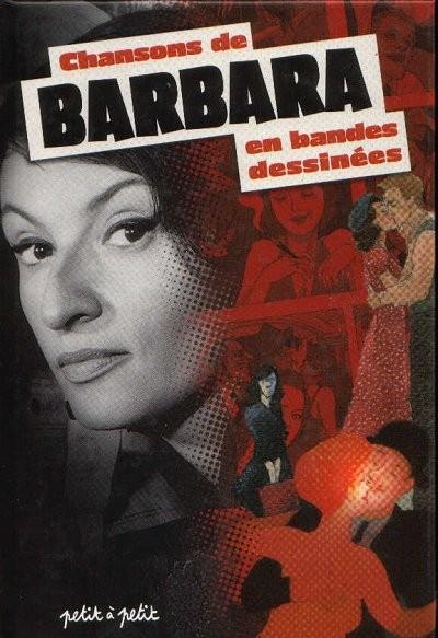 Couverture de Chansons en Bandes Dessinées  - Chansons de Barbara en bandes dessinées