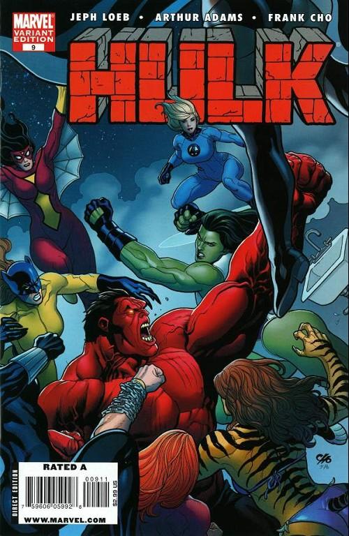 Couverture de Hulk Vol.2 (Marvel comics - 2008) -9VC- Jackpot/The Revenge of the Lady Liberators