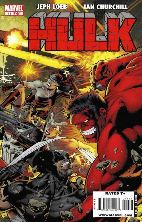 Couverture de Hulk Vol.2 (Marvel comics - 2008) -14- Code red : Eyewitness (Part 1)