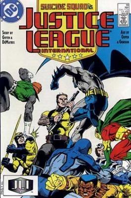 Couverture de Justice League International (1987) -13- Collison course