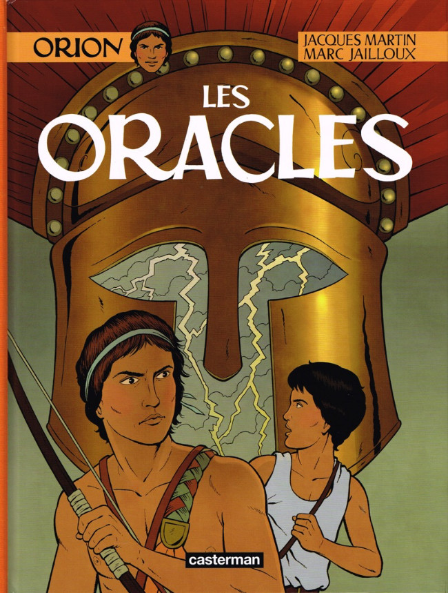 Couverture de Orion (Martin) -4- Les oracles