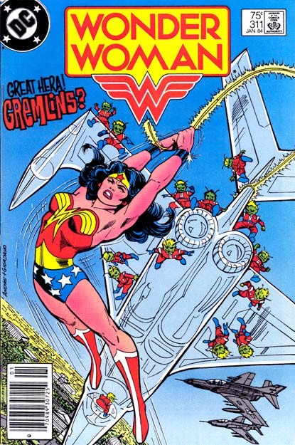 Couverture de Wonder Woman Vol.1 (DC Comics - 1942) -311- Gremlins!