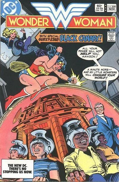 Couverture de Wonder Woman Vol.1 (DC Comics - 1942) -309- The Black Canary Is Dead!